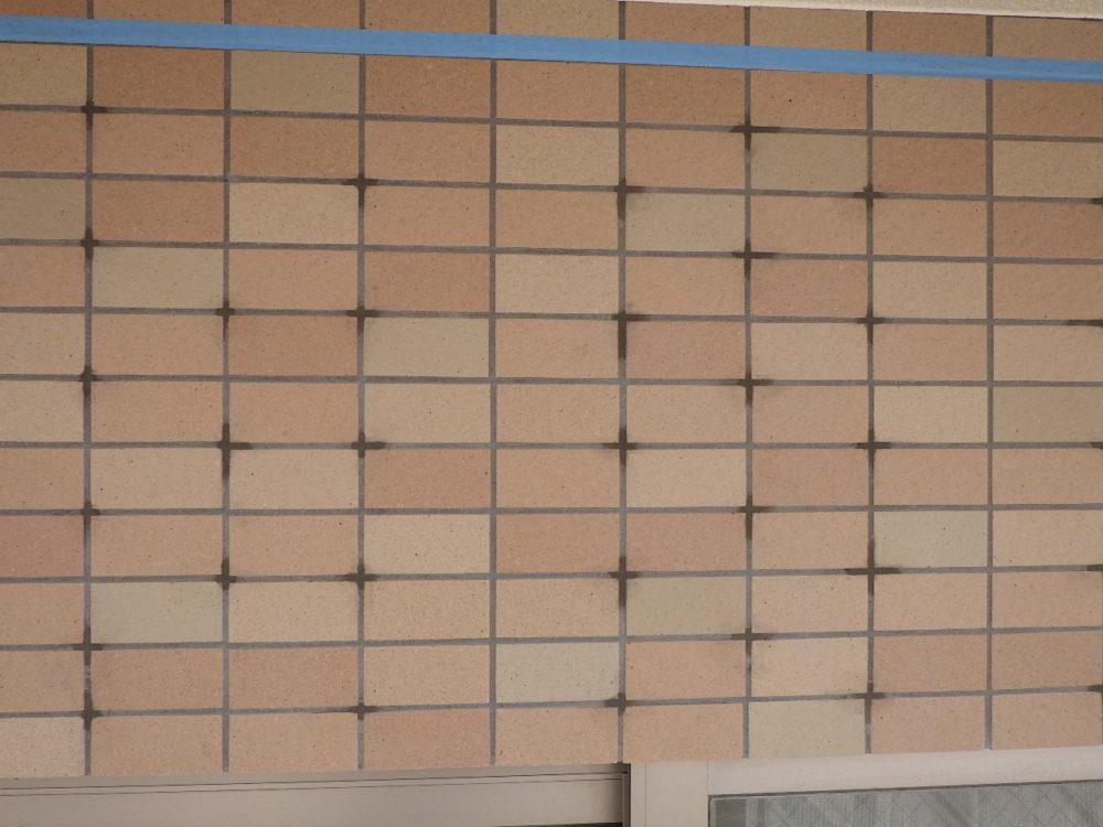 外壁剥落工事:ビスクランプ工法画像