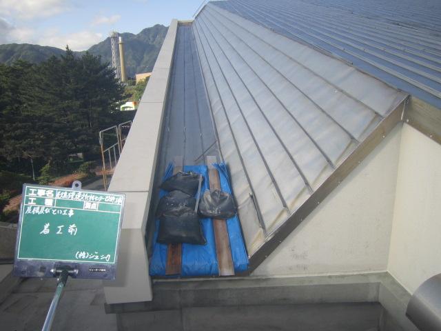 金属屋根張替え工事画像