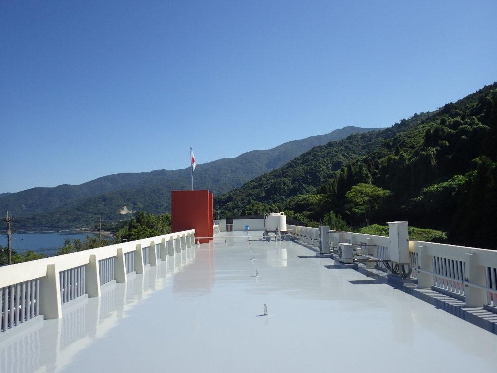 公共施設:ウレタン塗膜防水工事画像
